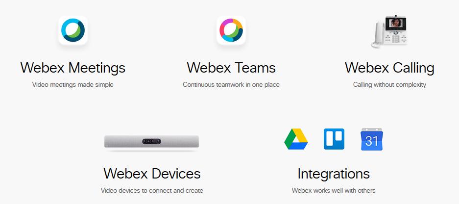 Cisco Webex Meetings Teams Calling